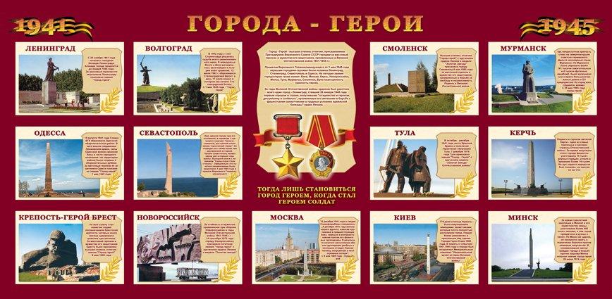 Картинки городов героев в великой отечественной войне с описанием